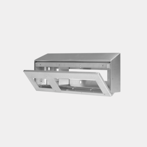 Cell Service Unit Mounting option for horizontal intercom panels