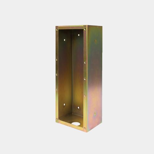 flush mount backbox for 4 series intercoms