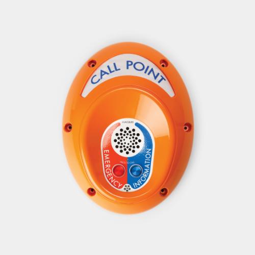 emergency help point unit, 2 button