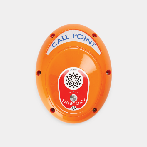 Emergency Help Point Unit With Self Testing Button