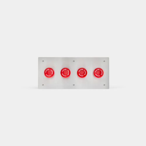 emergency and evacuation panels, 4 buttons, school lockdown