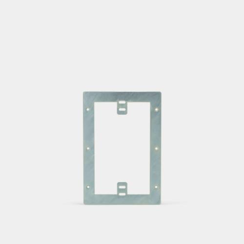 plasterboard mount kit, 6 series intercom panel