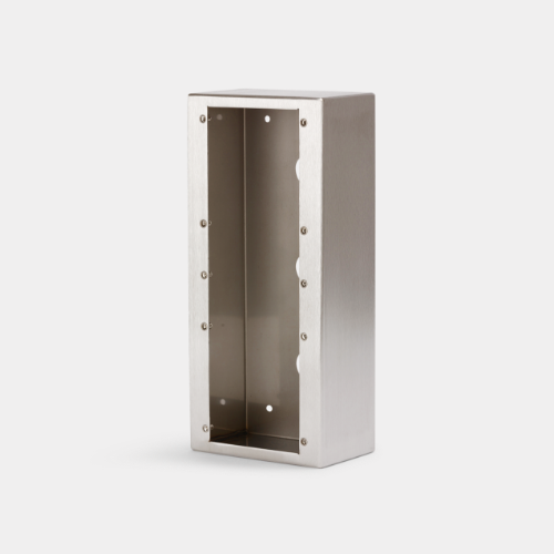 surface mount backbox for 6 series intercom panel