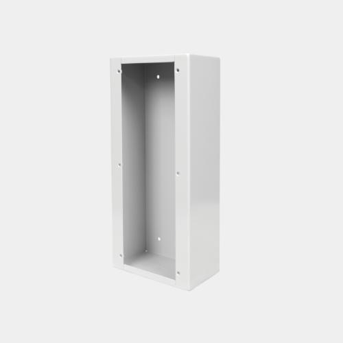 surface mount backbox for 4 series intercom panel