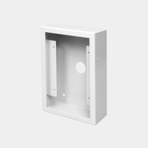 surface mount backbox for 5 series intercom panel