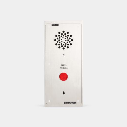 standalone intercom, weather resistant, 1 button