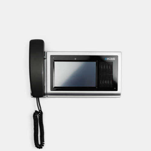 Video Monitor Station with handset
