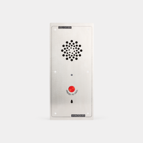 4 series audio intercom panel, weather resistant, 1 button