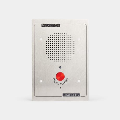 5 series audio intercom panel, anti-ligature, 1 button