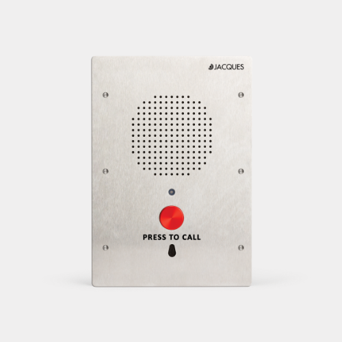 6 series audio intercom panel, weather resistant, 1 button