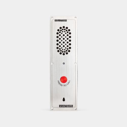 7 series audio intercom panel, 1 button