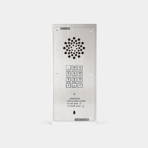 audio intercom with keypad, weather resistant
