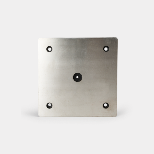 wall mount plate for emergency help point unit