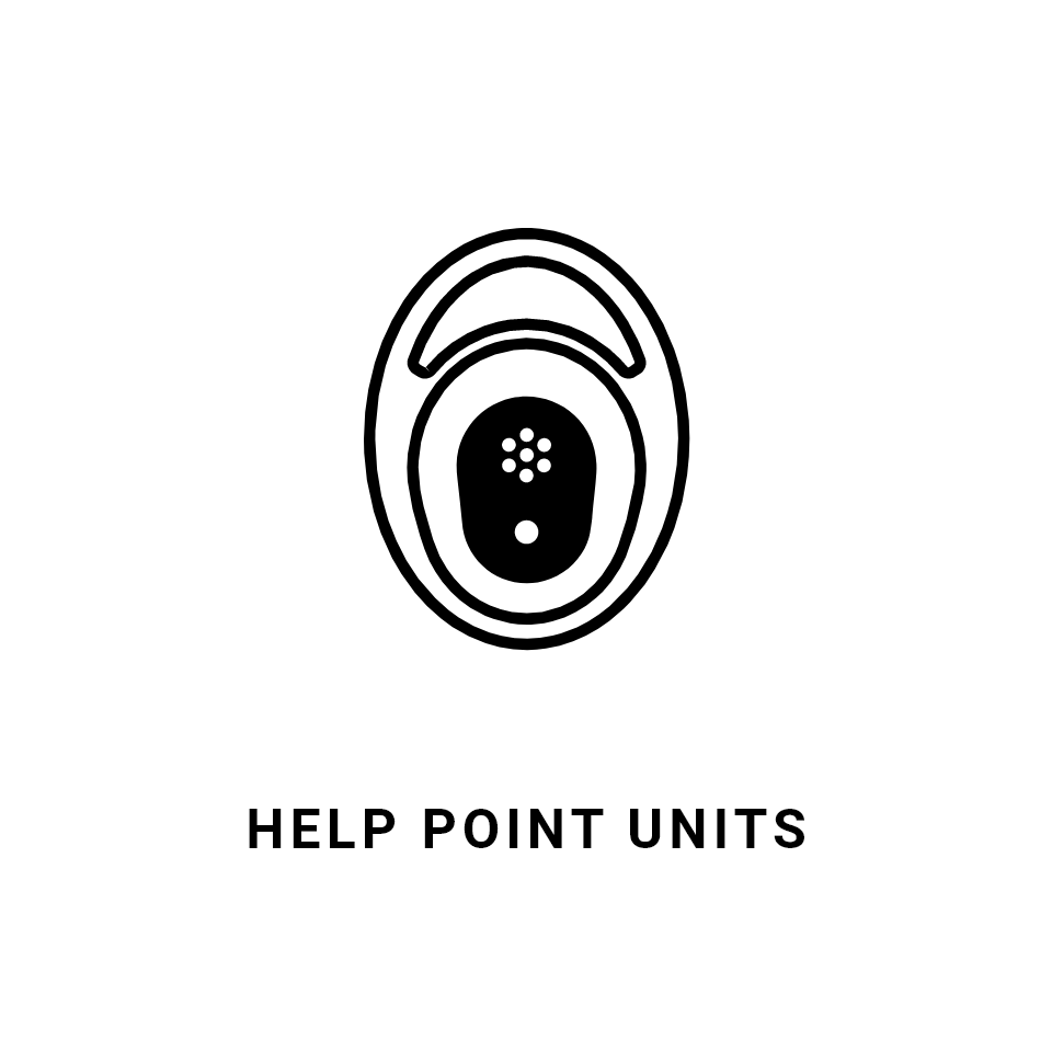 Jacques emergency help point units