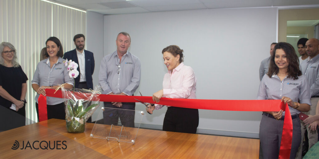 Opening Ceremony of Jacques head office
