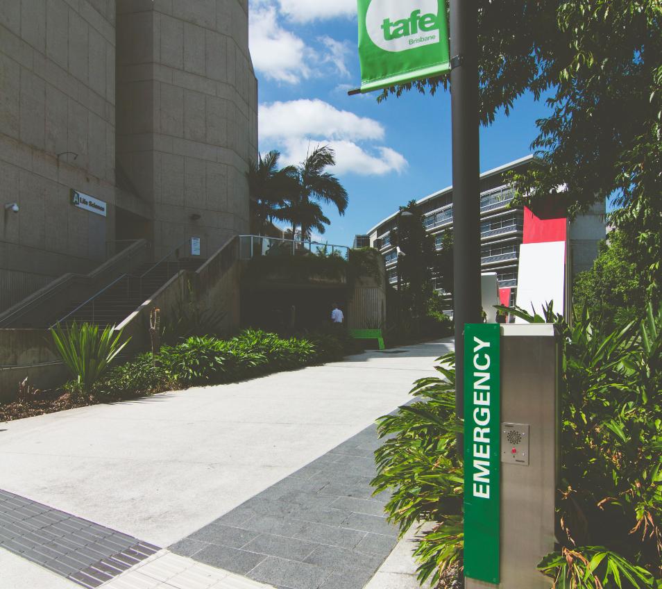 Intercom at university campus